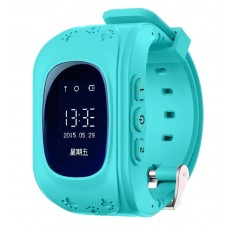 GPS Watch kids GPS tracker ( Turquoise Blue)