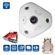360 Panoramic Fisheye IP Camera WIFI Security Surveillance Camera. (Plus FREE Memory Card)