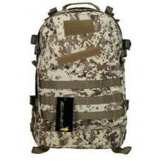 3D Tactical Bag (DESSERT CAMO Plus a FREE  Cardsharp Knife