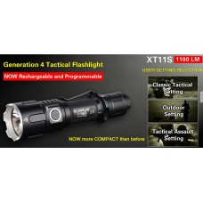 Klarus XT11S Flashlight USB rechargeable tactical (1100 Lumens)