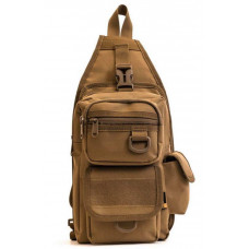 BLACK FRIDAY SALE!!!!Single Strap Backpack (MUD) Plus FREE Survival Band