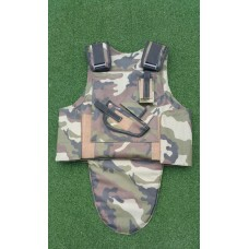 Tactical Jacket with fold out groin protection or alternatively double chest protection
