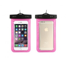 Waterproof phone pouch (Pink)