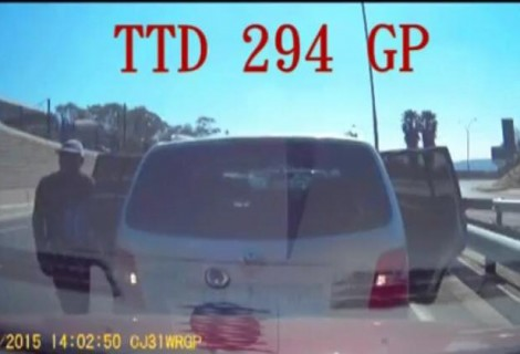 Armed Robbery Dash cam footage in Bedfordview South Africa